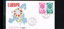 1964 - Europe CEPT FDC Italy [FV069] - Europa-CEPT