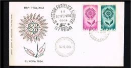 1964 - Europe CEPT FDC Italy [P15_258] - Europa-CEPT