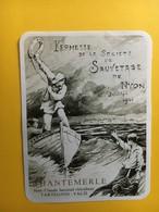 8540 - Kermesse De La Société De Sauvetage De Nyon Chantemerle Tartegnin Suisse Repro Illustration 1901 - Bateaux à Voile & Voiliers