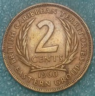 Eastern Caribbean 2 Cents, 1960 - Caraïbes Orientales (Etats Des)