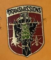 MILITAIRE 1 ÈRE RI TRANSMISSIONS - Militaria