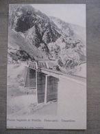 Tarjeta Postal Chile Chili - Puente Ilagando Al Portillo - Ferro-carril Trasandino Transandino - J. Allan Valparaiso 177 - Chili
