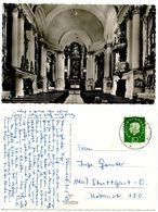 Germany, West 1959 RPPC Postcard Kloster Reisach B. Niederaudorf, To Stuttgart - Churches & Convents