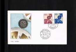 1967 - Europe CEPT FDC Italy [P15_198] - 1967