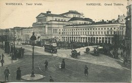 004384  Warszawa - Teatr Wielki - Polen