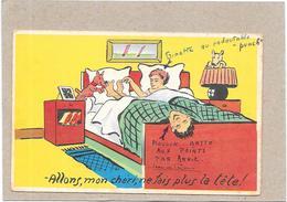 ILLUSTRATEUR Jean De PRAISSAC   - HUMOUR - Allons Mon Chéri Ne Fais Plus La Tete !  - BORD** - - Künstlerkarten