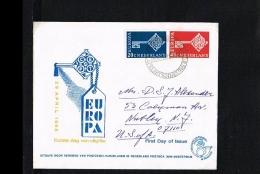 1968 - Europe CEPT FDC Netherlands - Cancel Filatelistenbeurs [JQ042] - Europa-CEPT