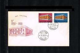 1969 - Europe CEPT FDC Italy [P15_162] - Europa-CEPT