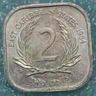 Eastern Caribbean 2 Cents, 1984 -1174 - Caribe Oriental (Estados Del)