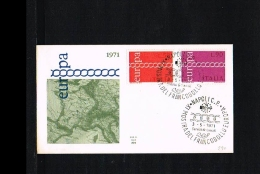 1971 - Europe CEPT FDC Italy [P15_108] - Europa-CEPT