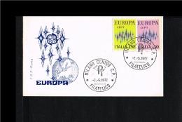 1972 - Europe CEPT FDC Italy - Roma Blue [P14_358] - Europa-CEPT