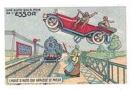 CARTOLINA PUBBLICITARIA POST CARD CARTE POSTALE  BOYER & CAVAILLON - Pubblicitari