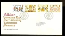 1981 - Europe CEPT FDC Great Britain [NL051_05] - Europa-CEPT