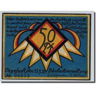 Billet, Allemagne, Vegesack, 50 Pfennig, Bateau, 1921, 1921-05-13, SPL - Other