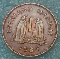 Falkland Islands 1 Penny, 1983 - Falkland