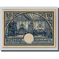 Billet, Allemagne, Stützerbach, 10 Pfennig, Maison, 1921, SPL, Mehl:1287.3 - Other