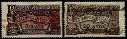 MACAU, Stamp Duty, PB 204, 211, Used, F/VF, Cat. € 8 - Revenue Stamps