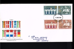 1984 - Europe CEPT FDC Great Britain [EY012] - Europa-CEPT