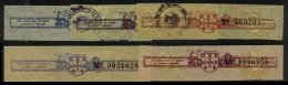 MACAU, Tobacco Tax, PB 52/58 Disc., */o M/U, F/VF - Revenue Stamps