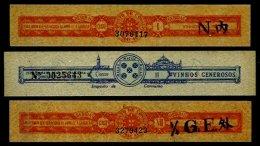 MACAU, Beverages, */o M/U, F/VF - Revenue Stamps