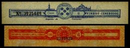 MACAU, Beverages, (*) MNG, F/VF - Revenue Stamps