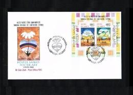 2003 - Europe CEPT FDC Turkish-Cyprus Mi.Bl. 21 [HY073] - Europa-CEPT