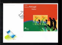2004 - Europe CEPT FDC Portugal Madeira Mi.Bl. 28 [D17_065] - Europa-CEPT