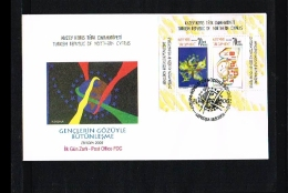 2006 - Europe CEPT FDC Turkish-Cyprus Mi.Bl. 25A [HY160] - 2006
