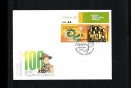 2007 - Europe CEPT FDC Ukraine Mi.856-857 [HY164] - Europa-CEPT