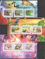 M637 2011 DE GUINEE FAUNA BIRDS 8882-90 MICHEL 48 € 3KB MNH - Hiboux & Chouettes