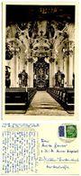 Germany, West 1954 RPPC Postcard Wallfahrtskirche Steinhausen Bei Schussenried/Württ. - Churches & Convents