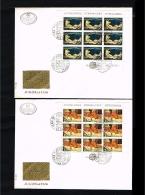 1975 - Jugoslavia FDC Mi.1598-1599 - 2 Minisheets - Europe CEPT [D19_051] - FDC