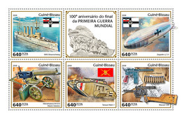 GUINEA BISSAU 2018 - End Of World War I. Official Issue - WW1