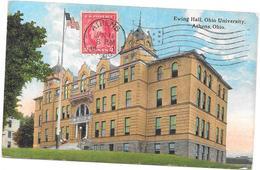 OHIO - ETATS UNIS - Ewing Hall Ohio University ATHENS  - BORD** - - Etats-Unis