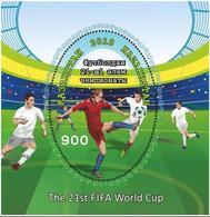 Kazakhstan 2018.Soccer World Cup 2018. FIFA. New New!!!Block. - Kazakhstan