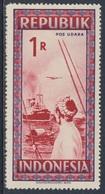 Indonesia Indonesie 1949 Mi 98 ** Indochinese Boats Approaching Blockade Runner / Scheitern Niederländischen Blockade - Indonesië
