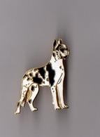 Pin's Chien Dogue Allemand (EGF) Hauteur: 3,3 Cm - Animaux