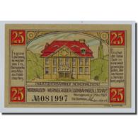 Billet, Allemagne, Wernigerode, 25 Pfennig, Manoir, 1921, 1921-03-01, SPL - Other