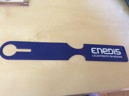 """Porte-étiquette ** """"Enedis"""" (Erdf, EDF) - Advertising"""