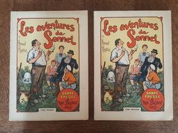 1936 Tome 1 & 2 - Les Aventures De Sonnet - L. Romain Le Monnier - Illustrations De Damblans - Livres, BD, Revues