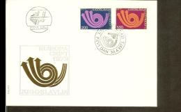 1973 - Jugoslavia FDC - Europe CEPT [NL260_05] - Joegoslavië