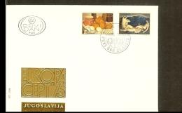 1975 - Jugoslavia FDC - Europe CEPT [VZ017-51] - Joegoslavië
