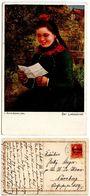 Bavaria, German State 1919 Postcard Painting - L. Blume-Siebert, Hirschaid Postmark - Paintings