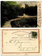 Denmark 1907 Postcard Brønderslev - Plantagen, To København - Danimarca
