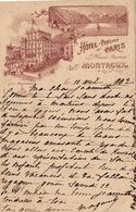 Montreux - Hotel Pension De Paris - Le Moinat - VD Vaud