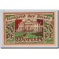 Billet, Allemagne, Wörlitz, 50 Pfennig, Paysage, O.D, SPL, Mehl:1450.1 - Other