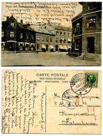 Denmark 1907 Postcard Parti Ved Brønderslev Banegaard, To Kjøbenhavn - Danimarca