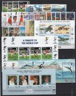 Gibilterra 1998 Annata Completa / Complete Year Set **/MNH VF - Gibilterra