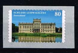 """Bund 2014, Michel # 3128 **  """"Ludwigslust"""", Selbstklebend, Self-adhesive Mit RollenNr. 80 - Unused Stamps"""