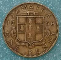 Jamaica 1 Penny, 1959 - Jamaica
